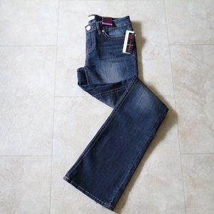 No Boundaries Dark Wash Slim Bootcut Jeans